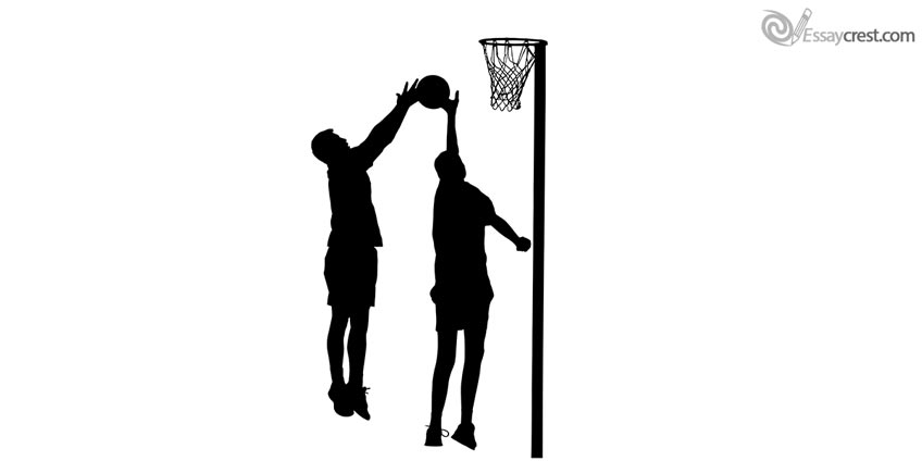 Basketball Player's Silhouette