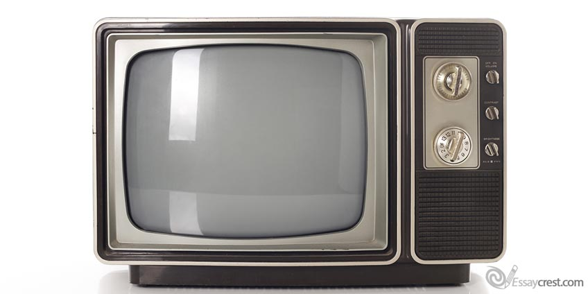 Monochrome TV Set